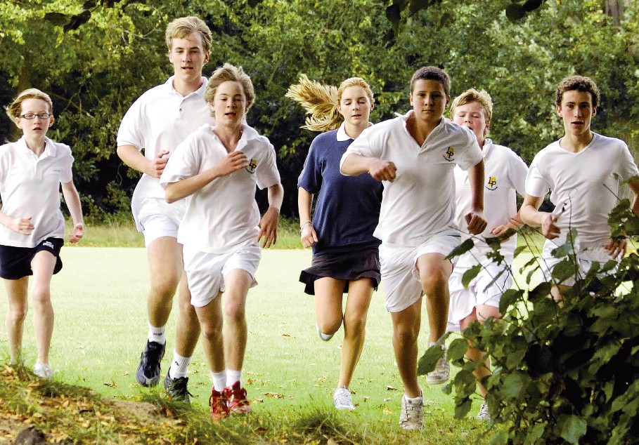 Boarding school cross country marathon